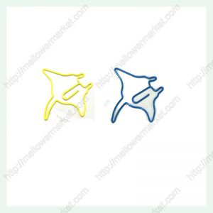 Ray Shaped Paper Clips | Manta Fish Paper Clips