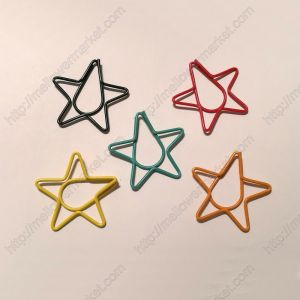 Star Shaped Paper Clips | Holiday Gifts (1 dozen/lot,44*39 mm)