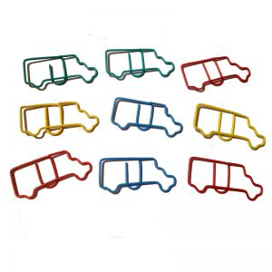 shaped paper clips in truck outline, business gifts, creative stationery -1