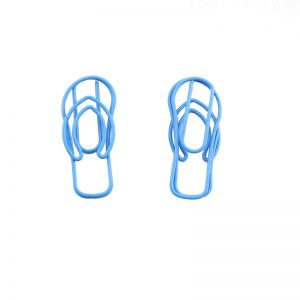 slipper shaped paper clips, shoe paper clips