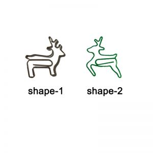 deer stag shaped paper clips