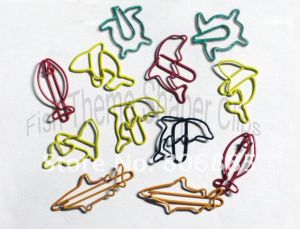 Fish Paper Clips | Unique Bookmarks (1 dozen/lot)