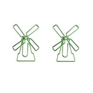 windturbine shaped paper clips