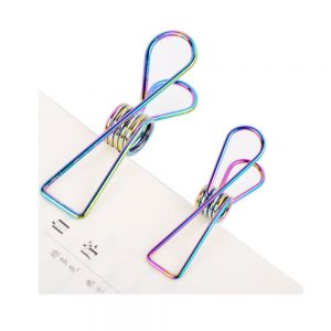 wire metal binder clips, fish office binder clips