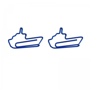 Yacht Shaped Paper Clips | Cruise Ship Paper Clips | Vehicle (1 dozen/lot)