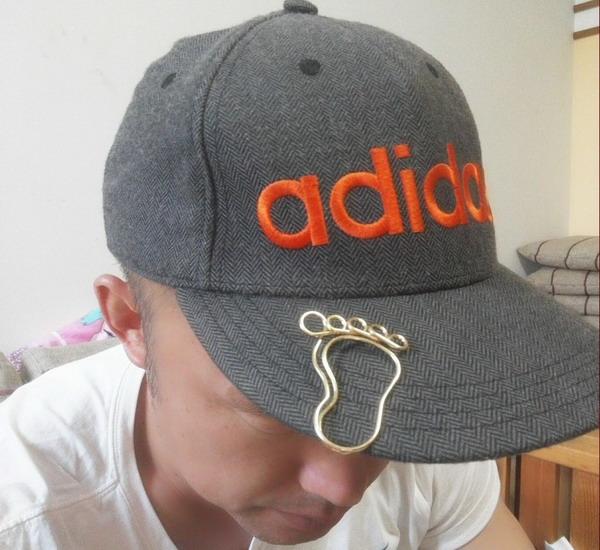 hat clips, brim clips in big foot