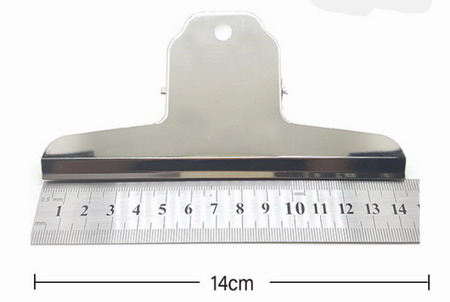 large bulldog clips, metal hinge clips