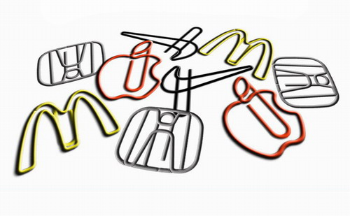 custom logo paper clips, promotional paper clips