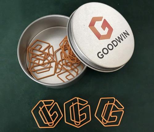 logo paper clips, custom paper clips